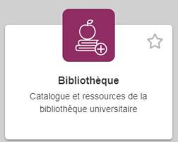 bloc bibliothèque