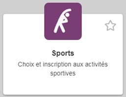 bloc sport