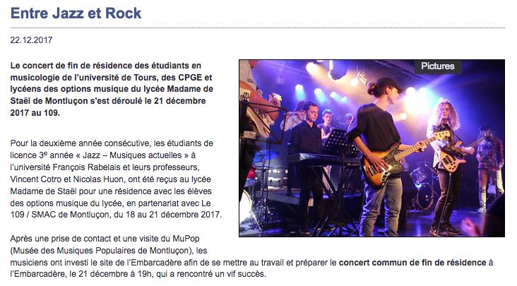 Reportage sur le site de l'Académie de Clermont-Ferrand