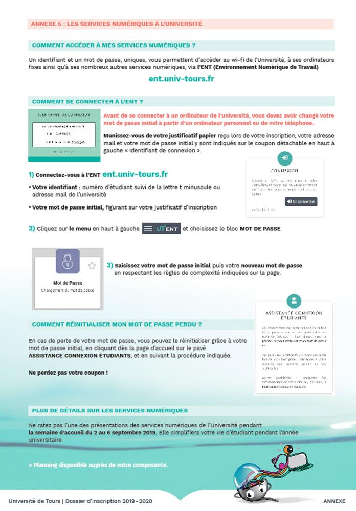 procedure mot de passe